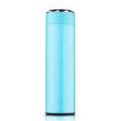 YIHANG @ Stainless Steel Insulation Cup Creative Stylish Portable Cup Men And Women Vacuum Office Leakproof Cup,Blue