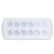 erthome 1 PC 12 Grid Ice Cube Jelly Chocolate Fruit Cake DIY Mould Tray Pudding Mould