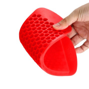 erthome Hot Sale Heart Shape Silicone Freeze Mould Bar Pudding Jelly Chocolate Maker Mould 150 Ice Cube