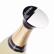 AVINA Champagne, Prosecco, Wine Stopper Cork & Sealer – Leak-Proof Sparkling Wine Saver Keeps The Fizz In Your Bubbly – No Leaks, No Spills, No Waste