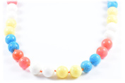 AqBeadsUk Classic Semi-Precious Gemstone Coral Beads 48cm - 50cm Luxury Handmade/Hand-Knotted Women's Necklace