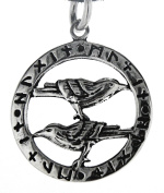 Ravens Pendant Made From 925 Sterling Silver No. 234