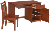 Night & Day Clove Student Desk and Chair Cherry