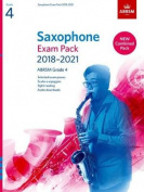 Saxophone Exam Pack 2018-2021, ABRSM Grade 4