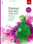 Clarinet Exam Pack 2018-2021, ABRSM Grade 1
