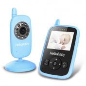 Hellobaby Hb24 6.1cm Wireless Video Baby Monitor With Digital Camera, & #339