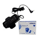 Omron 9983666-5 Positive Adaptor Mains Ac For Omron Blood Pressure Monitors New