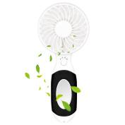 Mini Usb Hand-held Fan,lifu Rechargeable Portable Fan Cooling Multi-function 3
