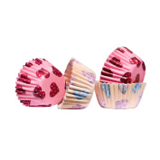 Mini Cupcake Cases, 100pcs, Paper / Greaseproof