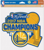 Golden State Warriors 2017 NBA Champions Perfect Cut Colour Decal