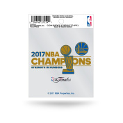 NBA Golden State Warriors 2017 Basketball Champions Small Static, 30cm by 15cm , Royal Blue, Gold