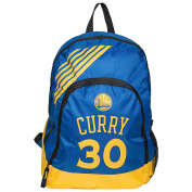 NBA Golden State Warriors Steph Curry #30 Border Stripe School Backpack