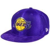 Los Angeles Lakers New Era 9FIFTY On Court Adjustable Snapback Cap / Hat