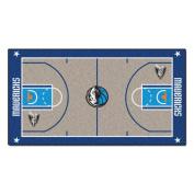 Fanmats Home Indoor sports Team Logo Dallas Mavericks NBA Large Court Runner Mat 80cm x 140cm