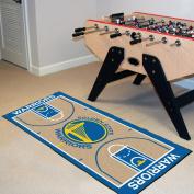 Fanmats Home Indoor sports Team Logo Golden State Warriors NBA Court Runner Mat 60cm x 110cm