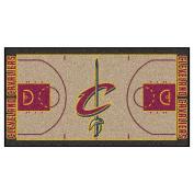 FANMATS NBA Cleveland Cavaliers Nylon Face NBA Court Runner-Small