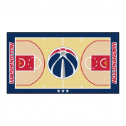 FANMATS NBA Washington Wizards Nylon Face NBA Court Runner-Large