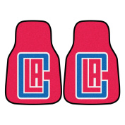 National Basketball Association Los Angeles Clippers 2 - piece Carpeted Car Mats 46cm x 70cm