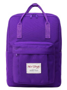 BESTIE Waterproof Travel Daypack Backpack for Girls | Purple