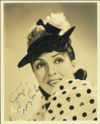 GYPSY ROSE LEE AUTOGRAPH GLOSSY PHOTO PRINT