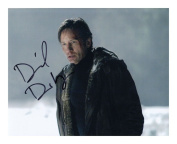 David Duchovny - The X-Files Autographed Signed A4 21cm x 29.7cm Poster Photo