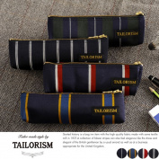 Put the TAILORISM Abraham, Moon made in Japan pencil case / for men mens / pencil / brush / Carle / cloth / cotton / stripe / fashion / gifts