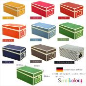 German stationery Semikolon (semicolon) business card box