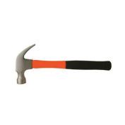 590ml Fibreglass Claw Hammer - Steel Head - Shock Absorbing Fibreglass Shaft