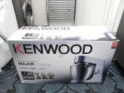 Kenwood Kmm020 Major Titanium 6.7l Kitchen 1500w Machine Food Mixer*boxed*uk