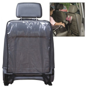 ZycShang Car Auto Seat Transparent Back Protector Cover For Children Kick Mat Mud Clean