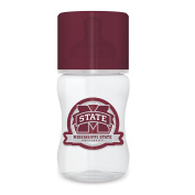 Baby Fanatic Licenced NCAA 270ml Baby Bottle 1 Pack, Mississippi State University