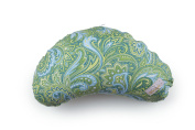 LittlebeamUS Nursing Cotton Cushion Pillow with Machine Washable Cover, Green Paisley