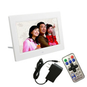 GBSELL 18cm HD LCD Digital Photo Frame with Alarm Clock Slideshow MP3/4 Player