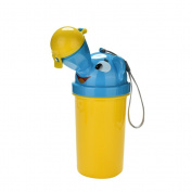 AOWA 1pcs Cute Portable Baby urinal pot Cartoon Vehicular Potty Kids Portable Toilet,YL