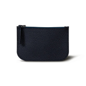 Lucrin - Earphone pouch - Navy Blue - Goat Leather