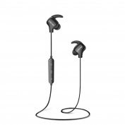 Wireless Earphones, iClever Bluetooth 4.1 Running Headphones (Only 13g, 106dB Music Drivers, 8 Hrs Playing Time, Sweatproof)Stereo Sports Earbuds with Mic for iPhone 7, iPad, for Samsung S8, Nexus, HTC, Echo, and More, Black