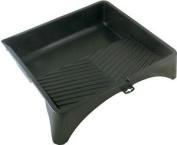 Unbranded 38cm Roller Tray - Black Plastic