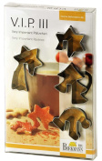 Birkmann Vip Cookie Cutters For Adorning Coffee Cup Mug, Biscuit