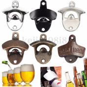Metal Wall Mounted Beer Soda Glass Wine Bottle Cap Bar Opener Bar Kitchen Tool