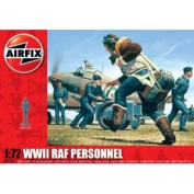 Airfix A01747 RAF Personnel 1:72 Scale Series 1 Plastic Figures