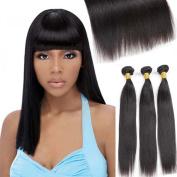 9A Grade Brazilian Virgin Human Hair Extensions Straight Hair Bundles Unprocessed Natural Colour Hair Weave 3 Bundles 4 bundles 100g/Bundle