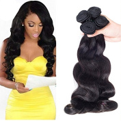 OYM HAIR Brazilian Virgin Hair Body Wave 4 Bundles 100% Real Human Hair Extensions Cheap Unprocessed Brazilian Hair Natural Colour 100g/pc Long Lasting