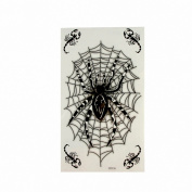 MapofBeauty Spider and Scorpion Temporary Waterproof Body Tattoo Sticker