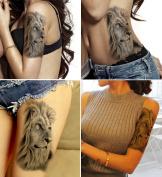 DaLin Large Temporary Tattoos, 4 Sheets