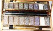 TF-Duan Women 9 Colours Waterproof Make Up Eye Shadow Palette Smoky Eyeshadow Giltter