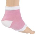 Runee Moisturising Silicone Gel Heel Socks For Dry, Hard, Cracked Skin, Open Toe