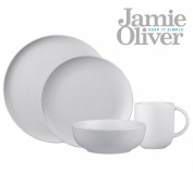 Queens Jamie Oliver White on White 16pc Starter Set