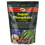 Doff Ready To Use Super Phosphate Garden Fertiliser - Plant, Crop Growth -1.25kg