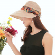 Women Outdoor Sunhat, UPF 50+ WITERY Fashion Summer Outdoor Wide Brim Sun Hat Protection Fishing Cap Neck Face Flap Hat