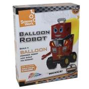 Grafix Science Worx Balloon Robot - Age 5 + Christmas
